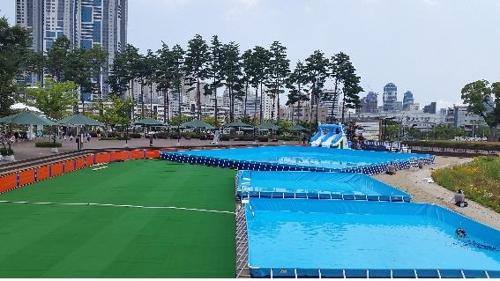 부산시민공원·어린이대공원에 무료 물놀이장