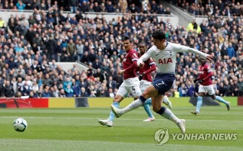 Sohn Heung-min Shooting