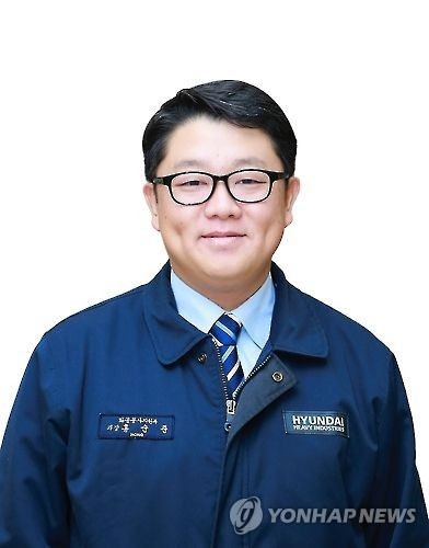 Hyundai Heavy Industries Co. manager Hong Soon-joon (Photo courtesy of Hyundai Heavy Industries) (Yonhap)