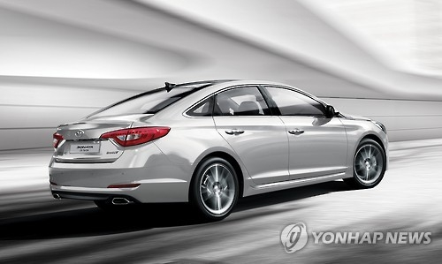 This undated photo shows the special winter edition of the Hyundai Sonata mid-sized sedan. The South Korean carmaker is set to unveil a new facelift version of the car in March 2017. (Photo courtesy of Hyundai Motor)