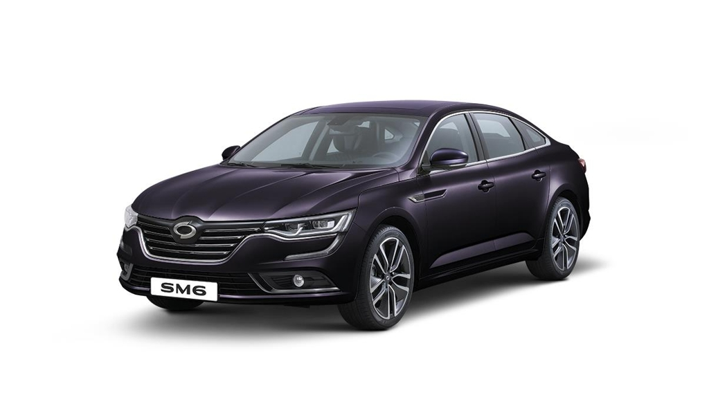 Renault Samsung Motor's flagship SM6 sedan (Yonhap file photo)