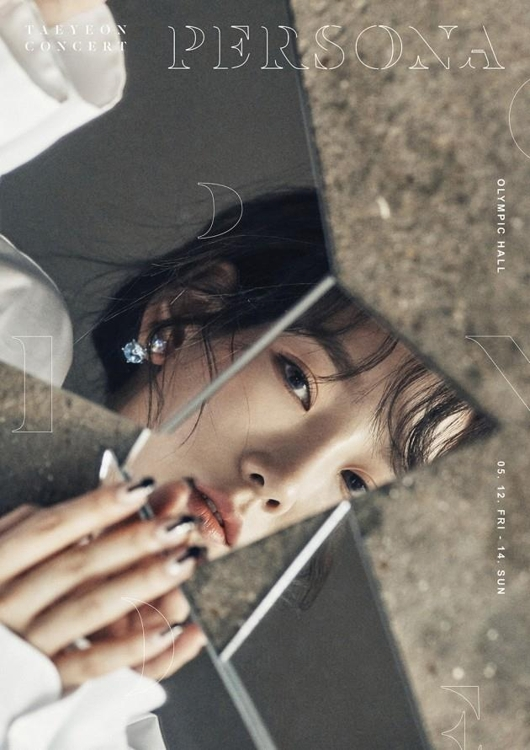"This image provided by S.M. Entertainment shows the poster for Taeyeon's solo concert ""PERSONA."" (Yonhap)"