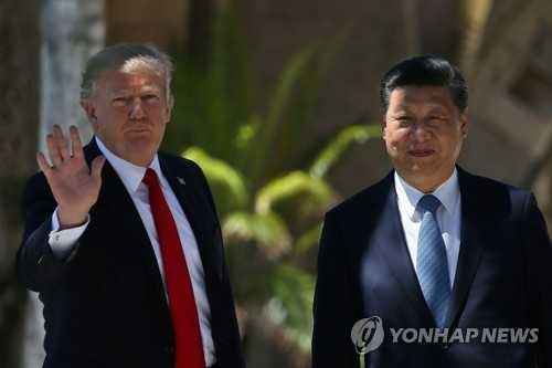 (4th LD) Trump, Xi agree to work together to convince N. Korea to curb nuclear program - 2