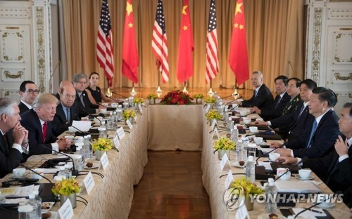 (6th LD) Trump, Xi agree to work together to convince N. Korea to abandon nuclear program - 1