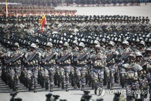 N.K. sets up special operation forces amid military tensions