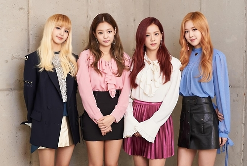 This photo provided by YG Entertainment shows BLACKPINK. (Yonhap)