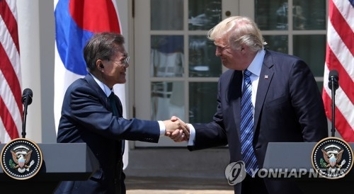 (3rd LD) Trump: U.S., S. Korea 'renegotiating trade deal right now' - 1