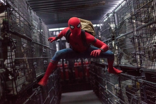 "A still from ""Spider-Man: Homecoming"" provided by Sony Pictures (Yonhap)"