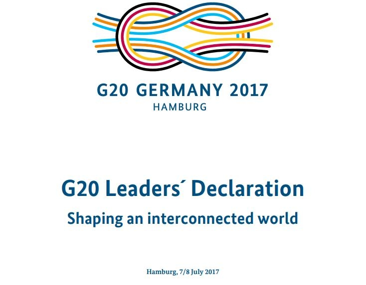 G-20 summit declaration says Paris Agreement irreversible, makes no mention of N. Korea - 1
