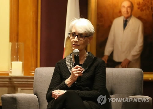 This file photo shows former U.S. Undersecretary of State Wendy Sherman. (Yonhap)