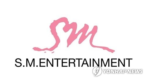 The corporate logo of S.M. Entertainment (Yonhap)