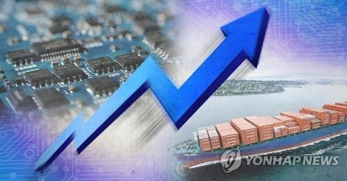 S. Korea's economic recovery pace being bolstered by robust exports0