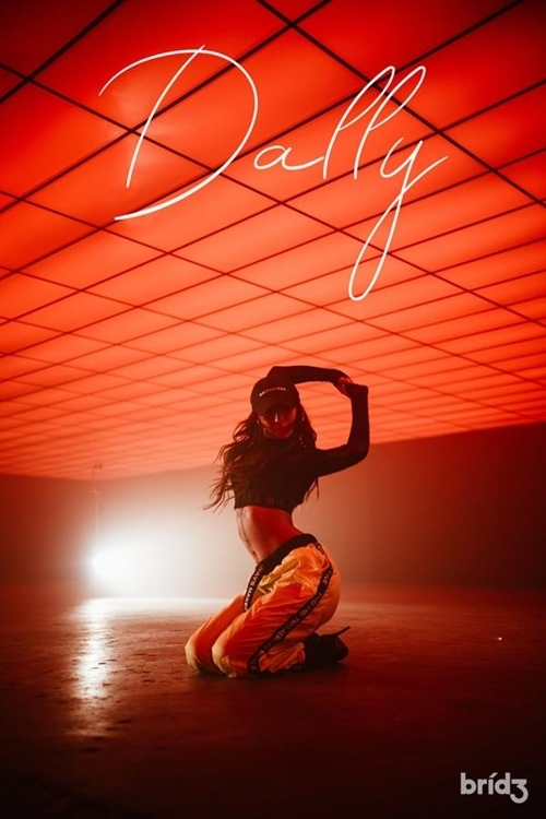 "This photo released by Bridge is a promotional image for Hyolyn's new single ""Dally."" (Yonhap)"