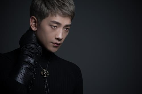 This image released by Rain Company shows singer-actor Rain. (Yonhap)