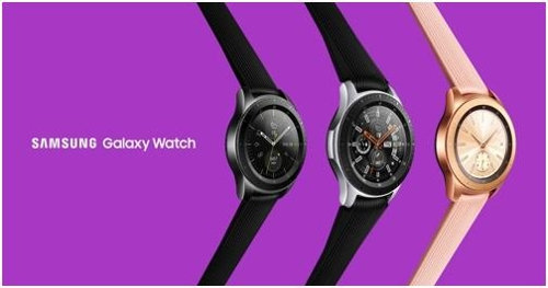 Samsung Electronics Co.'s Galaxy Watch smartwatches (Yonhap)
