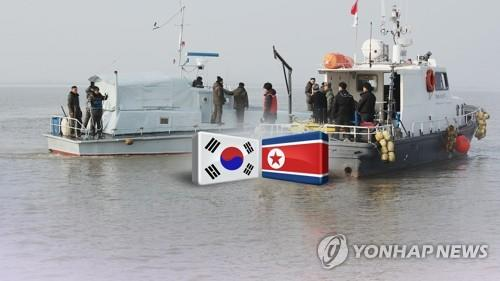 (LEAD) Koreas complete joint survey of Han River estuary - 1