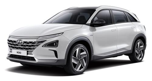 Hyundai's Nexo hydro fuel cell electric car (Yonhap)