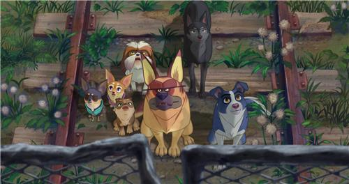 "This image from the animated film ""The Underdog"" was provided by Next Entertainment World. (Yonhap)"