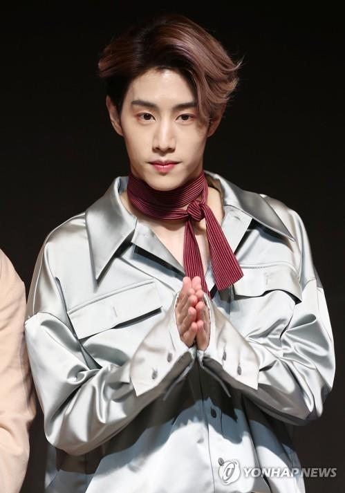 The file photo is of Mark of boy band GOT7. (Yonhap)