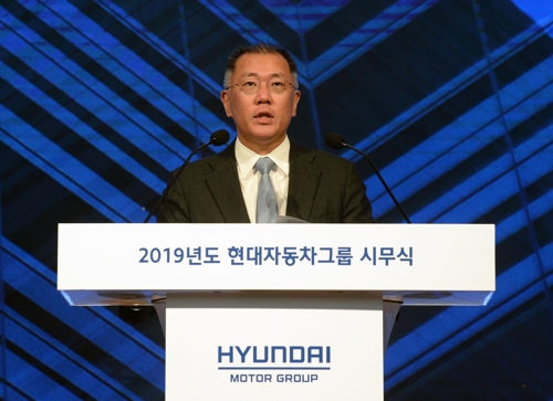 (LEAD) Hyundai, Kia aim to sell 7.6 mln vehicles in 2019