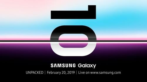 (LEAD) Samsung to unveil Galaxy S10 in San Francisco next month
