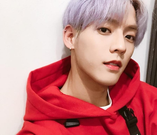 This image of BTOB's Lee Min-hyuk is captured from his Instagram account. (Yonhap)