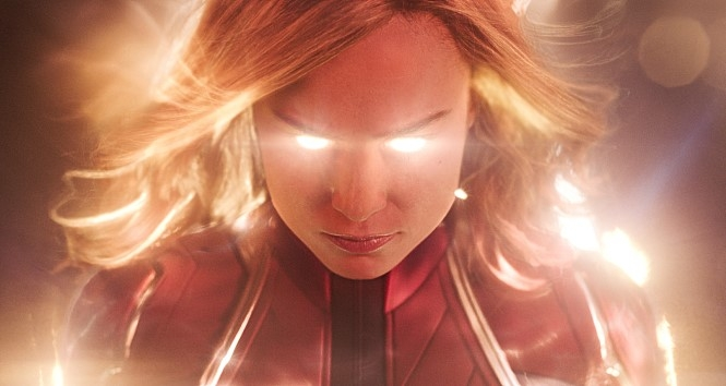 "A still from ""Captain Marvel"" (Yonhap)"