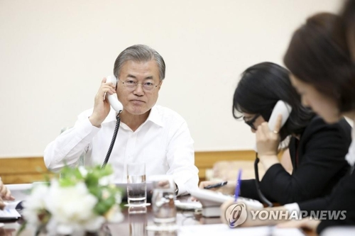 Moon appreciates UAE's help in getting S. Korean hostage freed