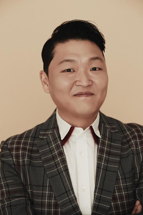 This image of singer Psy is provided by P Nation. (Yonhap)