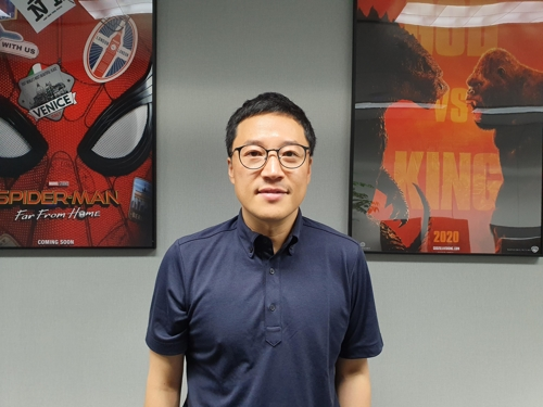 Hong Sung-hwan, studio manager of Scanline VFX (Yonhap)