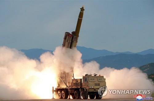 (LEAD) N. Korea fires unidentified projectiles toward East Sea: JCS