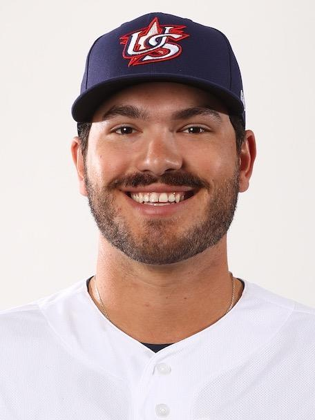This photo captured from the World Baseball Softball Confederation (WBSC) website shows the American pitcher Cody Ponce. (PHOTO NOT FOR SALE) (Yonhap)