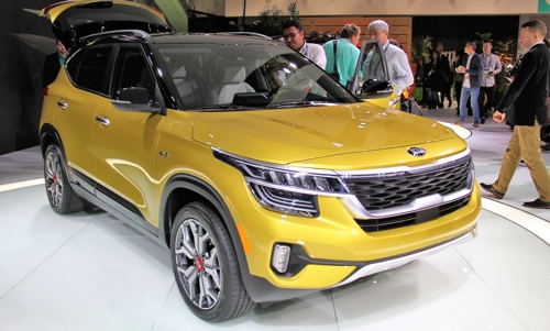 Kia to launch entry-level Seltos SUV in U.S. next year