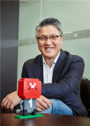 Lee Jae-hwan, CEO of the Korean app store ONE store, is shown in this photo provided by the company. (PHOTO NOT FOR SALE) (Yonhap)