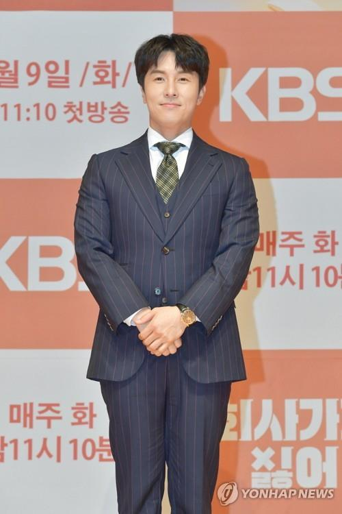 This photo of Kim Dong-wan is provided by KBS. (PHOTO NOT FOR SALE) (Yonhap)