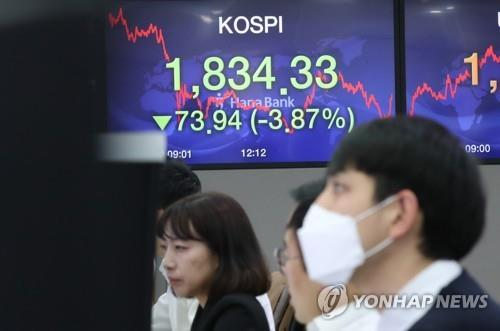 Stock short selling in S. Korea hits yearly high