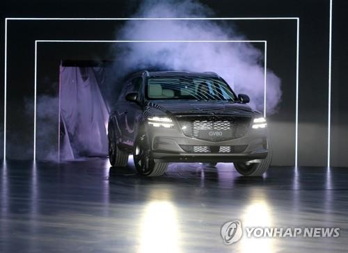 Hyundai delays delivery of GV80 SUV following engine vibration issue
