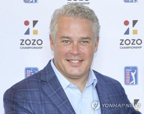 This photo, provided by the PGA Tour on Sept. 18, 2020, shows Ty Votaw, the tour's executive vice president of international affairs. (PHOTO NOT FOR SALE) (Yonhap)