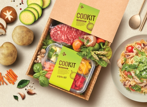 This photo, provided by CJ Cheiljedang Corp., shows an image of its meal kit brand Cookit. (PHOTO NOT FOR SALE) (Yonhap)