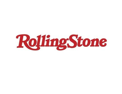 This image, provided by e.L.e Media, shows the logo of U.S. magazine Rolling Stone. (PHOTO NOT FOR SALE) (Yonhap)