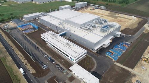 This photo, provided by Doosan Corp. on Oct. 30, 2020, shows a Hungary battery copper foil plant of Doosan Solus Co. (PHOTO NOT FOR SALE) (Yonhap)