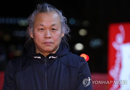 This file photo shows filmmaker Kim Ki-duk. (Yonhap)