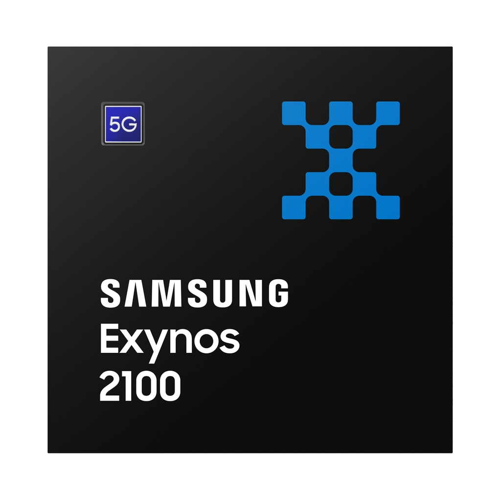 This image provided by Samsung Electronics Co. on Jan. 12, 2021, shows the company's new mobile application processor, the Exynos 2100. (PHOTO NOT FOR SALE) (Yonhap)