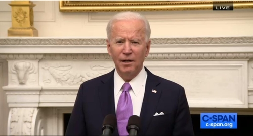 Biden urges Americans to 'mask up,' says visitors will need to quarantine
