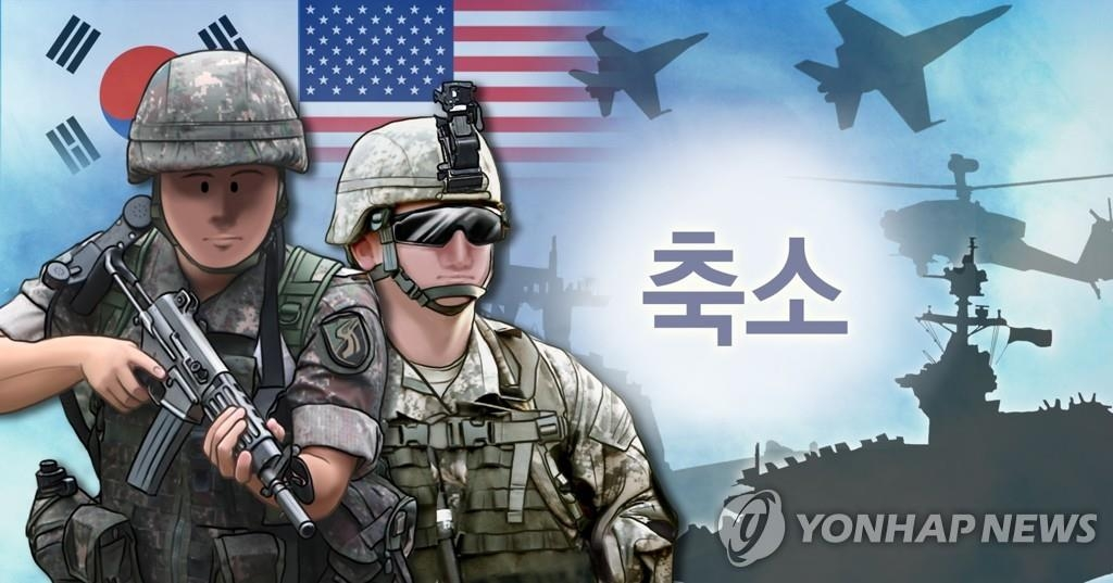 An image of South Korea-U.S. combined military drills (Yonhap)