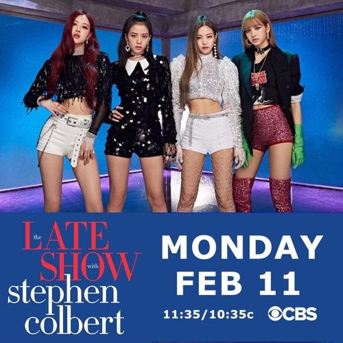 BLACKPINK va participer à «The Late Show with Stephen Colbert» - 1