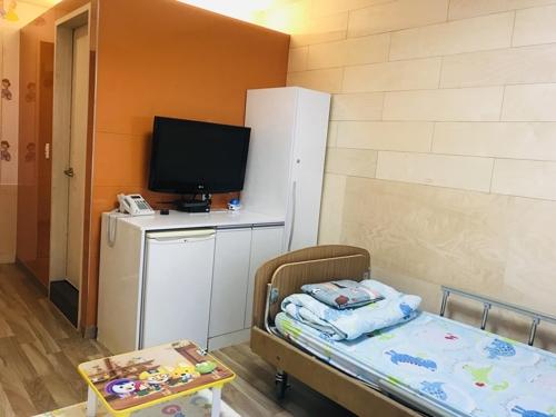 아동병원 1인실 모습