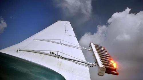 아랍에미리트(UAE) 기상청의 인공강우 비행기