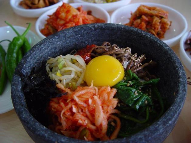 가장 인기 있는 한국 음식 비빔밥