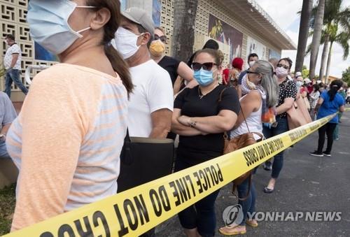 코로나19 실직대란에 미 노동자 540만명 건강보험 상실 | 연합뉴스